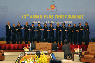 Chairman's Statement of the 13<sup>th</sup> ASEAN Plus Three Summit, 29 October 2010, Ha Noi