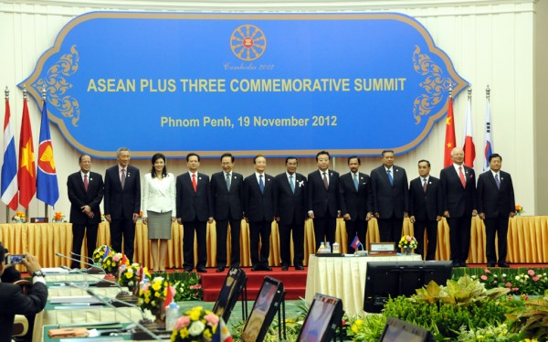 ASEAN Plus Three Leaders Joint Statement on the Commemoration of the 15<sup>th</sup> Anniversary of the ASEAN Plus Three Cooperation, 19 November 2012, Phnom Penh