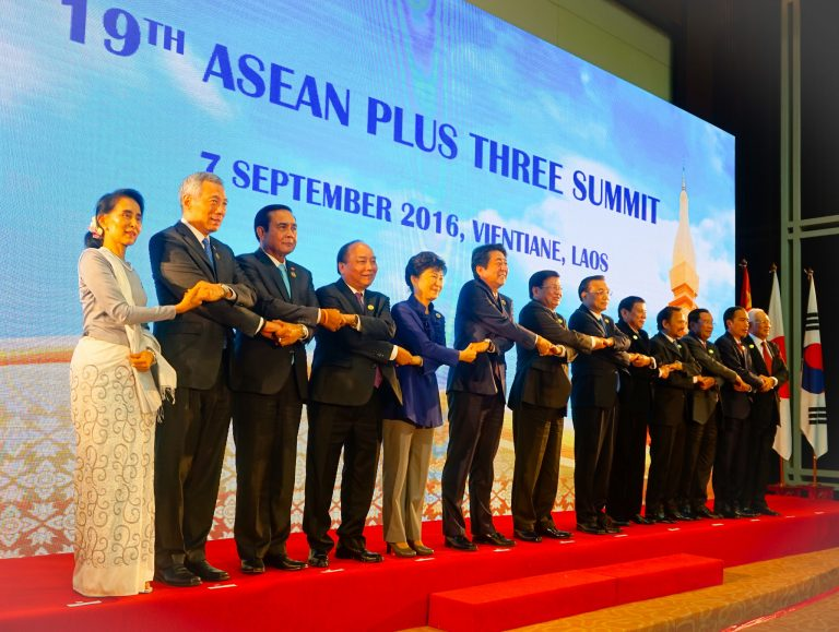 Chairman's Statement of the 19<sup>th</sup> ASEAN Plus Three Summit, 7 September 2016