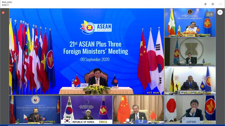 Chairman's Statement of The 21<sup>st</sup> ASEAN Plus Three Foreign Ministers' Meeting