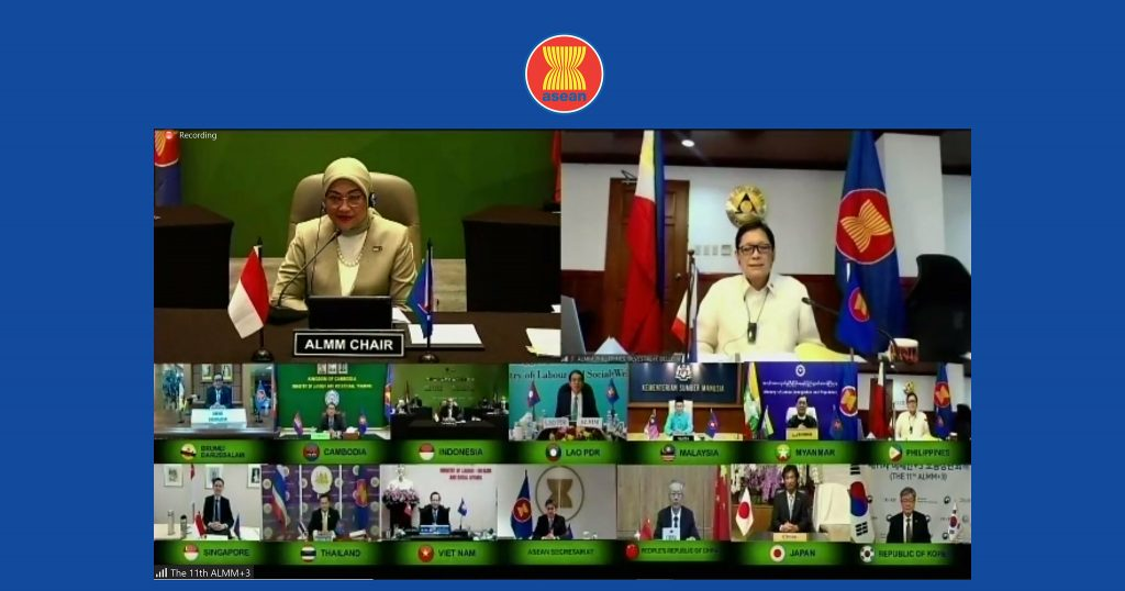 11<sup>th</sup> ASEAN Plus Three Labour Ministers Meeting (ALMM+3)